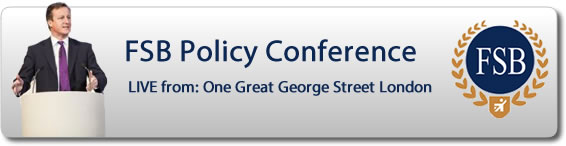 FSB Policy Conference - Live from the Royal Institute London