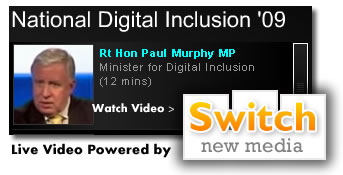 Live Streaming from the National Digital Inclusion Conference UK