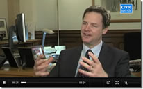 Switch New Media Live Stream the New Deputy PM Nick Clegg